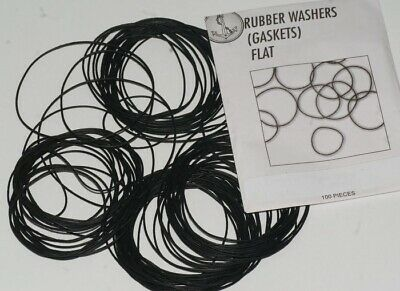 100x Extra large Watch GASKETS FLAT 40mm-50mm XL o rings seal washers case part