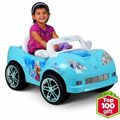 Disney Frozen Convertible Car 6-Volt Battery-Powered Ride-On ~ New In Box