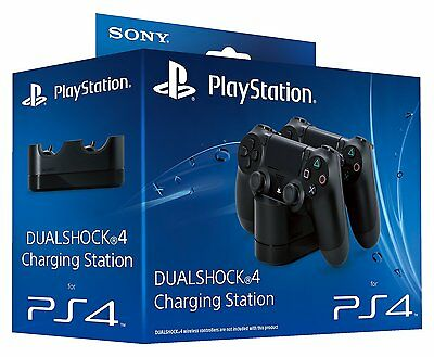 Official Ps4 Dock Stand Dualshock 4 Controller Charging Station New