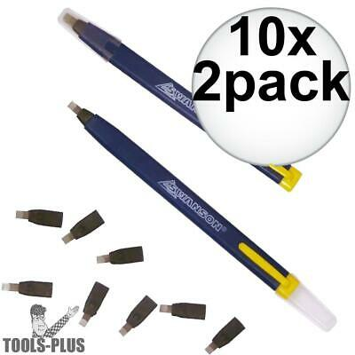 Swanson 10pk Always Sharp Refillable Carpenters Pencils CP216 NEW