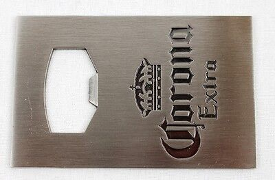 Corona Extra Credit Card Speed Beer Bottle Opener New Stainless Steel Blade