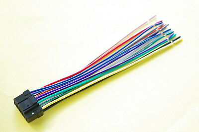 Wire Harness for ALPINE CDE 121 Includes 1 HARNESS wire harnesses, car audio & video installation, vehicle electronics