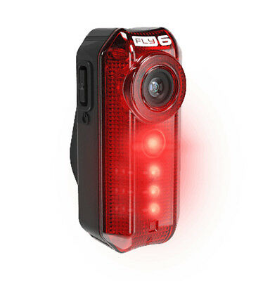 Cycliq Fly6 Rear Light With Built In HD Camera (Incl. 8Gb Micro Sd) New