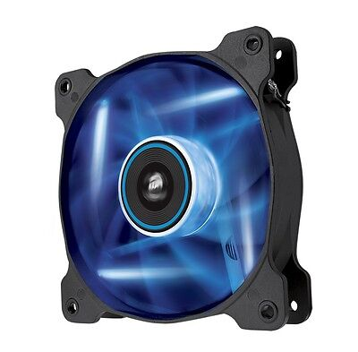 Corsair Air AF120 LED Blue Quiet High CFM 120mm Twin Pack - CO-9050016-BLED