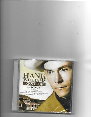 "Hank Williams, Cd ""best Of Hank Williams"" New Sealed"