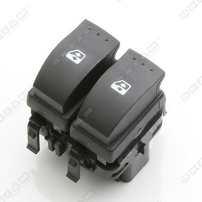Renault Clio Ii 2 Electric Window Control Double Switch Button Front Right