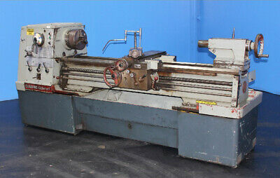 "17"" Swing x 60"" Center Clausing Colchester Engine Lathe Metal Turning Machine"