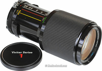 VIVITAR SERIES 1 70-210MM 1:35 67MM FILTER MACRO FOCUS AUTO ZOOM LENS 22054829