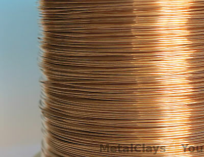 Unplated Bronze Round Wire 0.4mm to 5.0mm