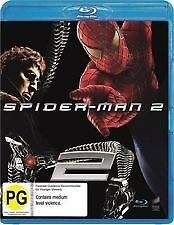 Spider-Man 2 Blu Ray New/Sealed Region B Australian Version  spiderman