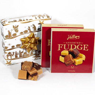 Unto Us A Child is Born - Assorted Fudge Gift Box - Hall's Candies