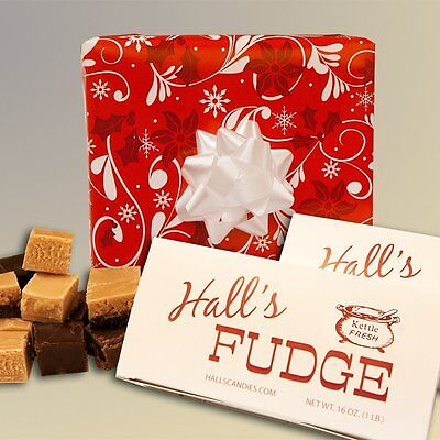 Berries 'N Bows - Assorted Fudge Gift Box - Hall's Candies
