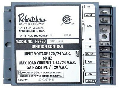 Ignition Control Module - HSI 62-22578-01 Robertshaw HS780-34-PL308A