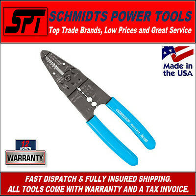 Channellock 908 Wire Stripper And Crimping Pliers - New