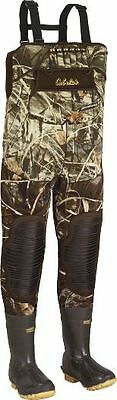 NEW Cabela's LightMag Chest Wader Hunting Wader Sz 11 Max-4 800 Gram Thinsulate