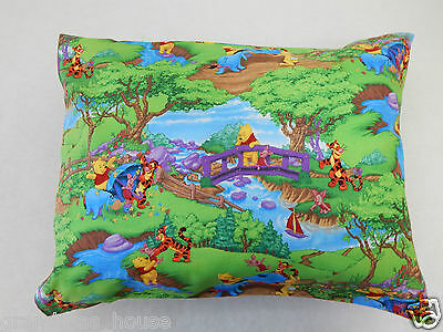 Child Toddler Cot Pillowcase Winnie The Pooh & Friends 100% Cotton