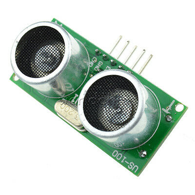 US-100 Ultrasonic Sensor Module With Temperature Compensation Range
