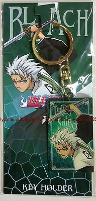 Bleach keyring Toshiro Hitsugaya official anime key ring plate Authentic
