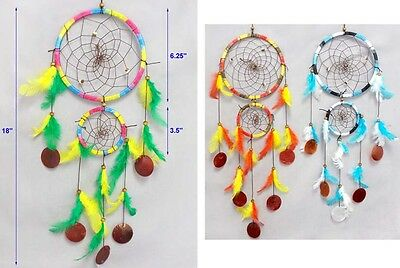 Handmade Tribal Dream Catchers Wall  Decorations Wholesale  6Pcs  (ENpDc117W-6)