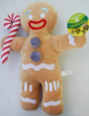 "Dreamworks Shrek Movie 19"" Gingerbread Man Gingy Plush Stuffed Animal Toy NWT"