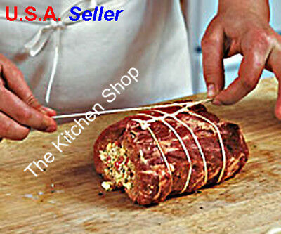 Cooking Twine 100% Cotton Food Grade Unbleached Butcher's String  220 ' Kitchen