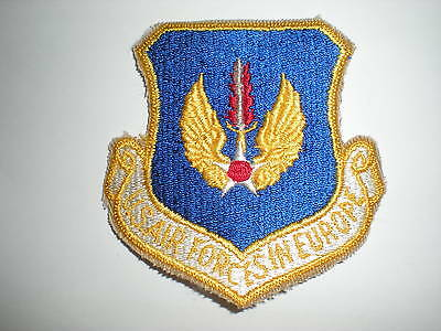 Usaf United States Air Forces In Europe Usafe Patch - Color