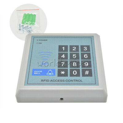 NEW Security RFID Proximity Entry Door Lock Access Control System 125KHz