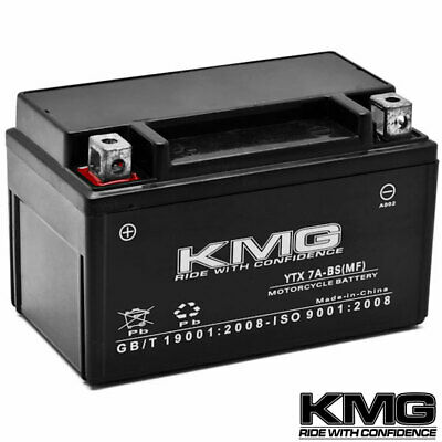 NEW High Performance 12V SMF Battery NEW Replacement YTX7A-BS Maintenance Free