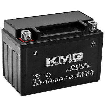 NEW High Performance 12V SMF Battery NEW Replacement YTX9-BS Maintenance Free