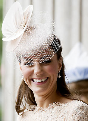 KATE MIDDLETON HAT Duchess Cambridge British Royal Family PHOTO 8x10 PICTURE