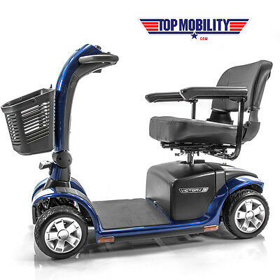 VICTORY 10 Pride 4-Wheel Electric Senior Mobility Scooter SC710 FREE ACCESSORIES