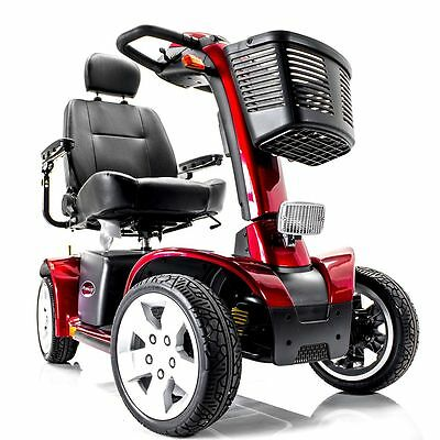 Pursuit Pmv Pride Electric Mobility 4-Wheel Scooter Sc713 New + Free Trailer