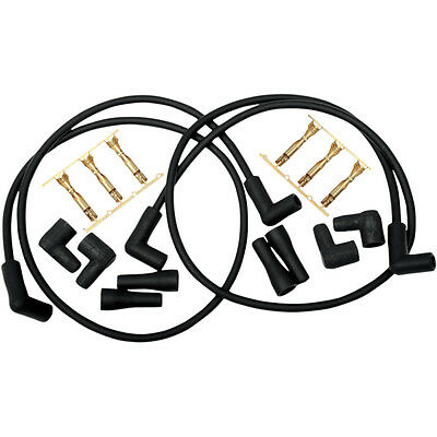 Compu-Fire Universal Dual-Plug Spark Plug Wire Kit for Harley Motorcycles
