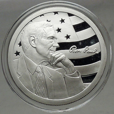 Congressman RON PAUL Official 2009 Campaign for Liberty AOCS Silver Round i44905