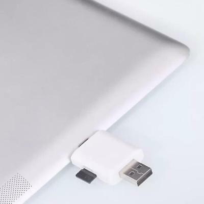 Lightning to USB ADAPTER Charger Micro SD Memory Card Reader 2 IN 1 for ipad