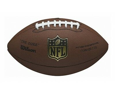 035315 SPORTS DEAL Wilson NFL Duke Replica American Football with ACL Lacing