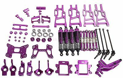 Upgrade Parts Package For HSP RC 1/10 Off-Road Buggy Electric &Nitro XSTR Purple