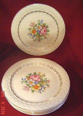 8 VINTAGE TAYL0R SMITH  PLATES Made in USA