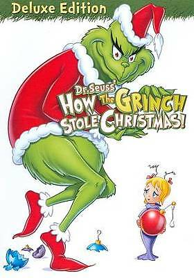 How the Grinch Stole Christmas (DVD, 2009, P&S; Deluxe Edition)