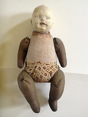 Antique Horsman Doll, Can't Break 'Em, EIH 1911
