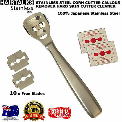 Stainless Steel Corn Cutter Callous Remover  Hard Skin Cutter Cleaner