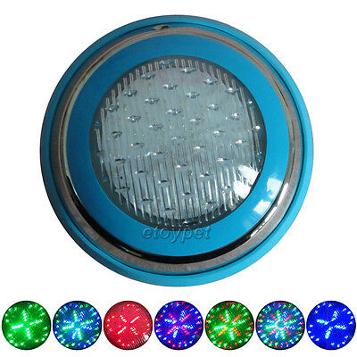 Swimming Pool Underwater Light Led Rgb Multicolor 10W/ac12V Stainless Steel Case