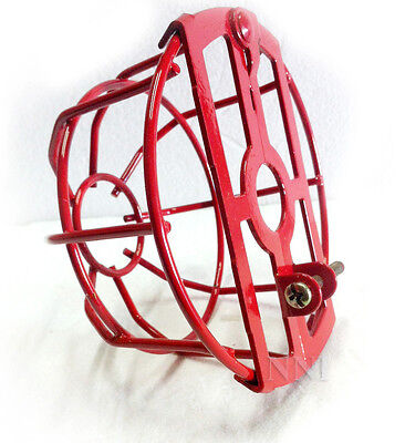 "3/4"" IPS Fire Sprinkler Headguard or Cage Heavy Duty Painted Red"