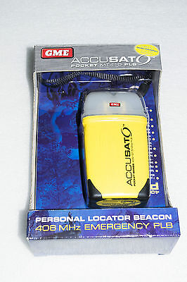 EPLB MT410 GME Emergency Personal Locator Beacon *MMSI number required*