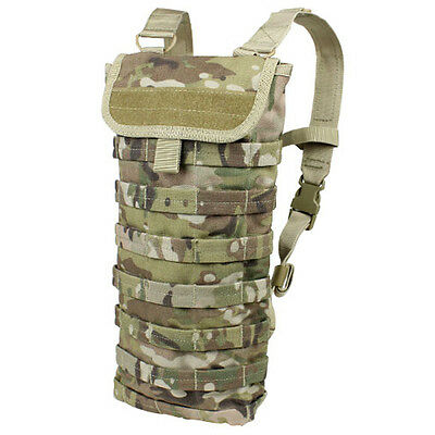 NEW CONDOR HC Tactical MOLLE Water H2O Hydration Carrier Pack Backpack Multicam
