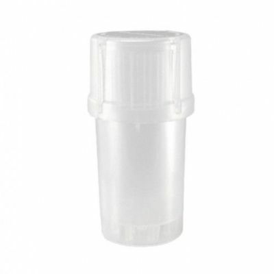 MedTainer Storage Container w/ Built-In Grinder - Yellow