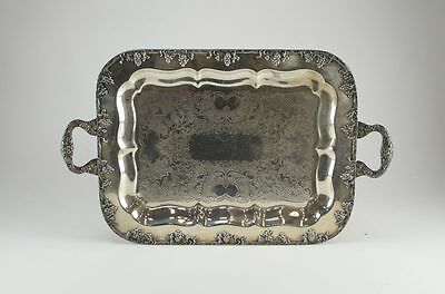 Antique Gotham Silver on Copper 251 Decorative Serving Tray