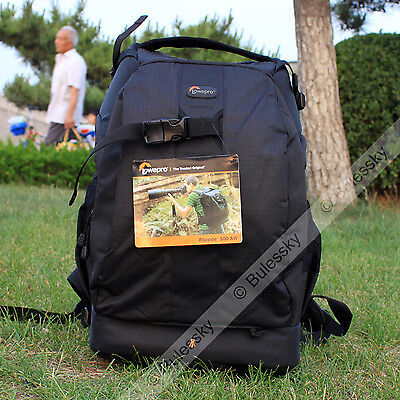 Lowepro Flipside 500 AW DSLR Camera Photo Bag Backpack Case & All Weather Cover