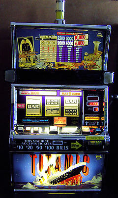 TITANIC IGT S2000 Slot Machine. Fully Functional. Coinless. Clean.