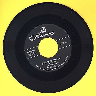 The CREW CUTS - Angels In the Sky / Mostly Martha  -  1955